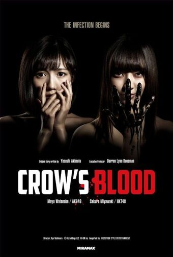 Cartel de la serie del canal Dark 'Crow's Blood'
