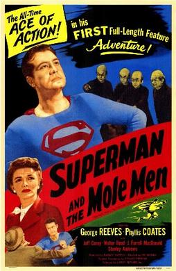 Cartel de la película 'Superman and the Mole Man'