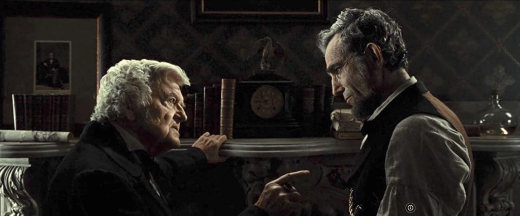 Hal Holbrook y Daniel Day-Lewis, en 'Lincoln', de Steven Spielbergr'