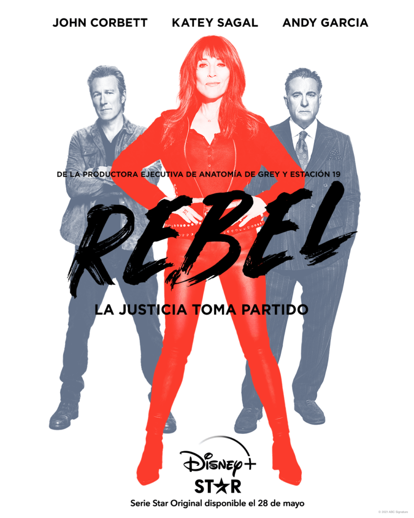 Cartel de la serie de Disney+ 'Rebel'
