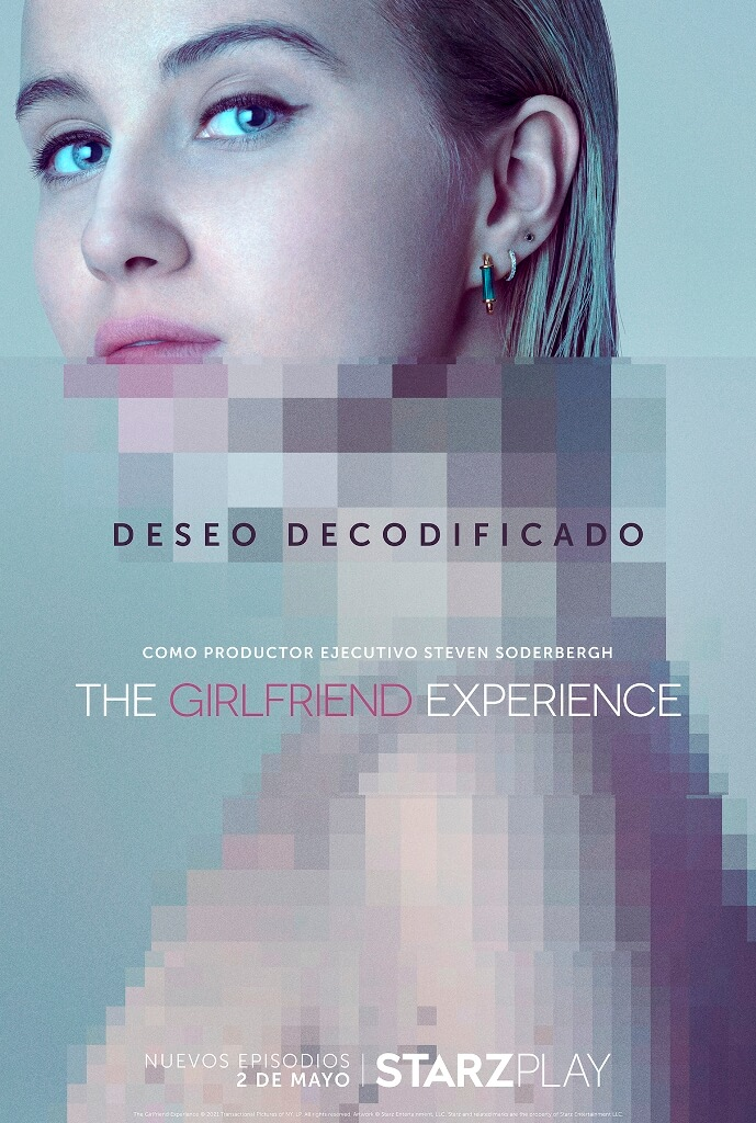 "Cartel de la serie de Starzplay ""The Girlfriend Experience"""
