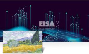 Imagen de uno de los televisores premiados por la EISA